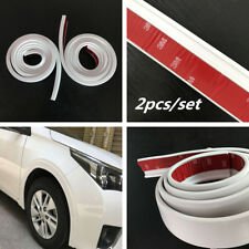 Car Fender Flare Extension Wheel Eyebrow Moulding Trim Protection Strips 2x 1.5m