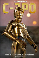 SIDESHOW STAR WARS DISNEY C-3PO R2D2 ACTION FIGURE 1/6 SCALE SET NEW IN BOX