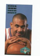 Detroit Pistons Not Autographed 1994-95 Season NBA Basketball Trading Cards