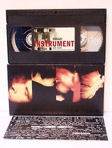 FUGAZI - JEM COHEN INSTRUMENT VHS 1999 RARE - PAL MADE IN ENGLAND - PERFETTA