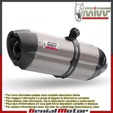 Terminali Scarichi MIVV Suono Titanio per Ducati Monster 1100 2008 > 2010