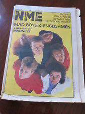 NME 10/10/85 Madness Wedding Present Bogshed Tracie Young Udo Linberg