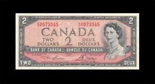 """New listing 1954 Bank Of Canada Qeii $2 *Lawson & Bouey* """"R/G"""" ( Ef+ )"""