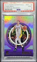 Lonzo Hall 2017-18 Panini Essentials RC Essential Rookies #ER-19 PSA 9 POP 7