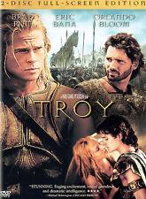 NEW Troy (Two-Disc Full Screen Edition) DVD, Brad Pitt, Eric Bana, Orlando Bloom