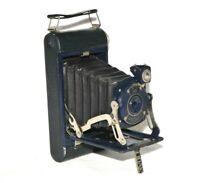 Kodak No.1 Junior Pocket Camera Blue Body Antique Display Gift C1920 120 Film