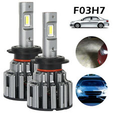 H7 Head light 90W 14400LM LED Headlights Bulbs Kit Canbus Error Free Lamps 6000K