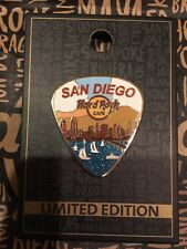 Hard Rock Cafe 2017 San Diego CA Sail Boats Coronado Bridge Guitar Pick Pin