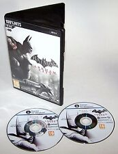 Batman: Arkham City Action Video Game PC DVD Vista & Windows 7