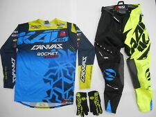 YAMAHA MOTOCROSS OFFROAD DIRTBIKE RIDING GEAR PANTS 28 SMALL HONDA KTM SUZUKI