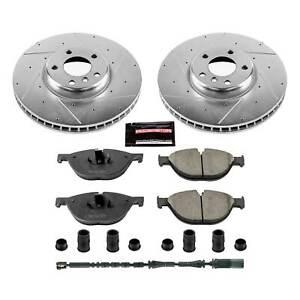 Power Stop Front Z23 Evolution Sport Brake Kit for 10-17 BMW 535i GT