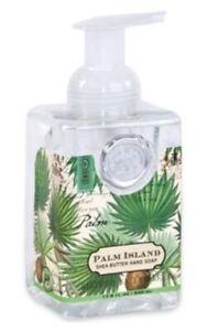 New Sealed Palm Island Michel Design Works Foaming Hand Soap 17.8 fl oz