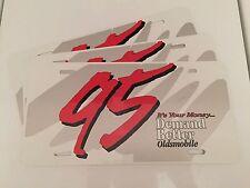 Oldsmobile Aluminum License Plate