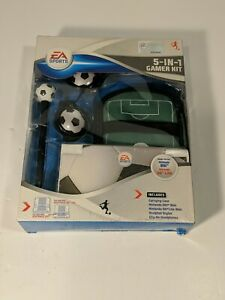 EA SPORTS SOCCER THEME 5 IN 1 GAMER ACCESSORY KIT FOR NINTENDO DSi AND DS LITE