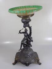 Art Nouveau accesorio WMF diana putt metal ikora cáscara personaje rare para 1900