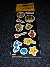 Neopets Stickers with Rare Item Code. Battledome 1. Series 1. 2 Sheets.