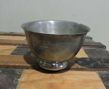 Vintage 1973 L.C.R.V. Dog Trophy Pewter Cup