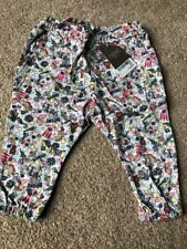 Next Unicorn Bee Rocket All Over Print Leggings Trousers Joggers 3-6 Months