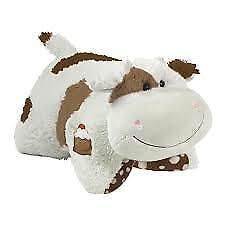 Sweet Scented Chocolate Milkshake Cow Pillow Pet New, In Hand