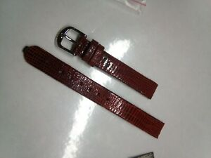RADO watch strap OEM eSenza 964.0492.3 genuine leather band 12mm with buckle NOS