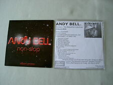 ANDY BELL job lot of 2 promo CDs Non-Stop Torsten, The Beautiful Libertine