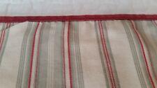 Ralph Lauren Desert Plains Stripe Standard Pillowcase Tan Red Green Cream Italy