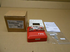 1 Nib Siemens 500-636161 500636161 Zh-Mc-R Zhmcr Strobe Alarm Red Wall Mount