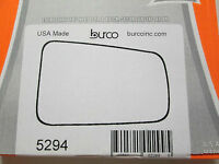 2008-2011 FORD FOCUS FITS RIGHT PASSENGER SIDE BURCO MIRROR GLASS # 5294