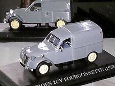 CITROEN 2CV FOURGON 1958  GRIS MOYEN ALTAYA