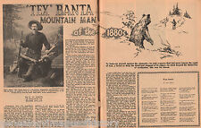 Tex Banta Family Genealogy - Man Of The Mountains 1880