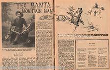 Tex Banta Family Genealogy - Man Of The Mountains 1880