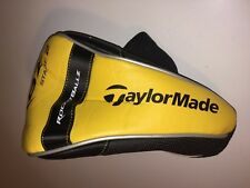 New TaylorMade Rocketballz RBZ Stage 2 Driver Headcover Head Cover Yellow Black