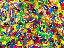"""PEINTURE SUR TOILE """"l éclat du diamant"""" ACRYLIQUE  60X80 CM art abstrait moderne"""