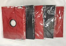 5 IPAD 2nd 3rd 4th Generation Case Covers Swivel Stand 2 Black, 3 Red New