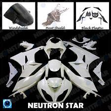 ABS Plastic Unpainted Injection Fairings Bodywork for 09-12 Ninja ZX-6R ZX6R 636
