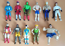 "G.I. JOE Street Fighter Dhalsim Guile Blanka Ryu 3.75"" GI Joe Vintage Figure Lot"
