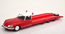 1:18 CMR Citroen DS Tissier Car Transporter 1970 red/white