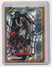 LORENZEN WRIGHT 1996-97 FINEST REFRACTOR #53 BRONZE RC *LOS ANGELES CLIPPERS*