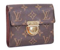 Authentic LOUIS VUITTON Koala Monogram Bifold Wallet Coin Purse #30673