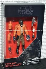 """New Star Wars Rogue One/A New Hope The Black Series 3.75"""" Figure Ponda Baba"""