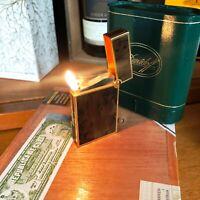 Davidoff (S.T.Dupont) Feuerzeug, Pfeifendüse, Wurzelholz, orig.Box, REVISIONIERT