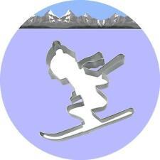 "Ausstecher/Ausstechform ""SCHIFAHRER"" - Skifahrer, Schi, Ski"