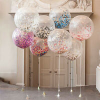 "12"" 20PCS/Pack Colorful Confetti Balloon Birthday Wedding Party Helium Balloons"