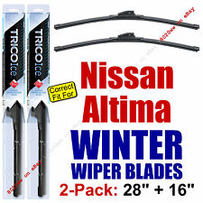 WINTER Wipers 2pk fit 2013 4-Door Sedan & ALL 2013-2018 Nissan Altima 35280/160