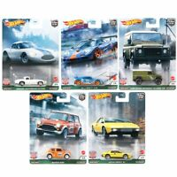 Hot Wheels Premium 2021 Car Culture 957A Case British Horsepower Set of 5 Cars