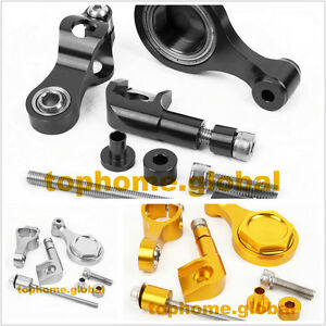 For Yamaha R1 1999-2015 CNC Bracket Mounting Kit Steering Damper Stabilizer 2006