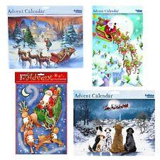 Christmas Countdown Advent Calendar - 24 Windows - Santa in Sleigh Designs