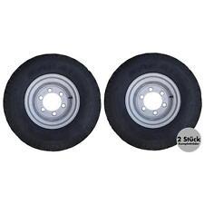 2 Stück - Komplettrad 11.5/80-15.3 14PR 9x15.3, für Anhänger, Rad, Räder, 6 Loch