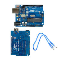 UNO R3 ATmega328P ATmega16U2 Power Development Board w/ USB Cable For Arduino