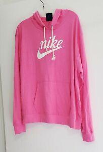 Nike Women's Plus Size Gym Vintage Hoodie Pinksicle Sz 1X - NWT